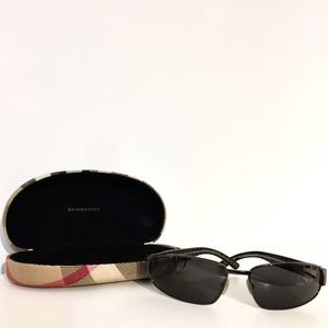 BURBERRY by Safilo Plaid Sunglasses w/ Case